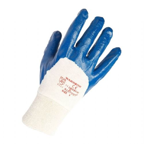 Warrior LW Nitrile Open Back Gloves - 12 Pairs